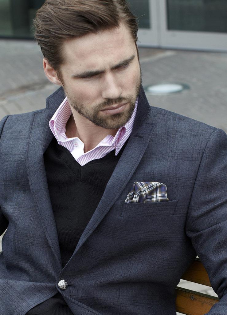 James Harvest and Frost dressjakke til herre. Stilig og god kvalitet med fin passform. Passer godt med logo brodert på bryst.