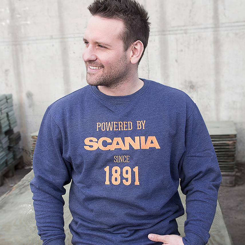 Speisialproduksjon av kleskolleksjon til Norsk Scania