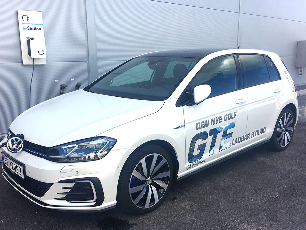 Bildekor Golf GTS, kampanje, folie på bil