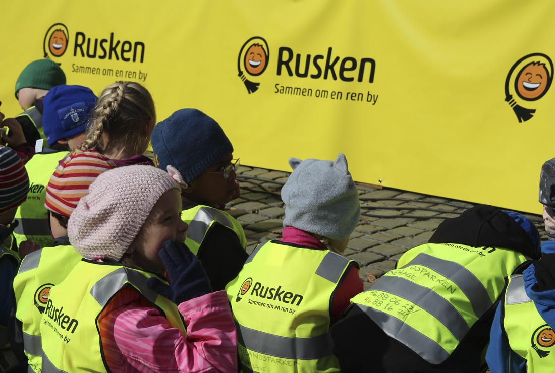 Profilartikler til Ruskendagen i Oslo.