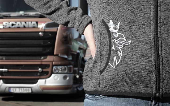 Spesialdesignet fleecejakke til dame Norsk Scania