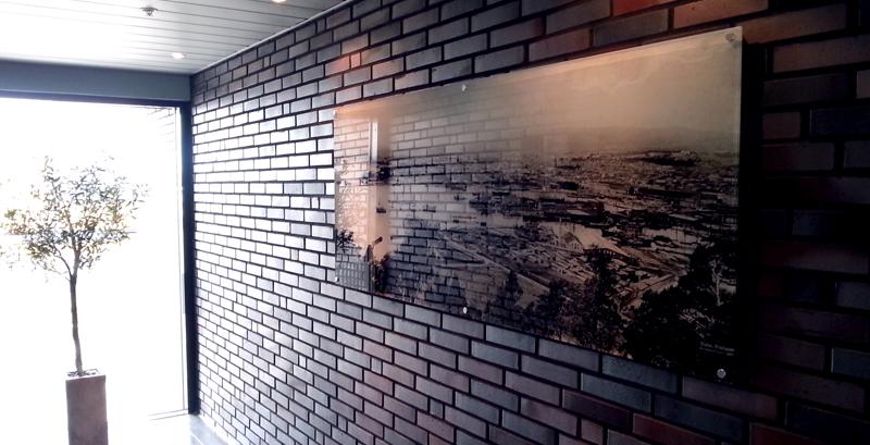 Foto på vegg, utsmykning, fotoprint