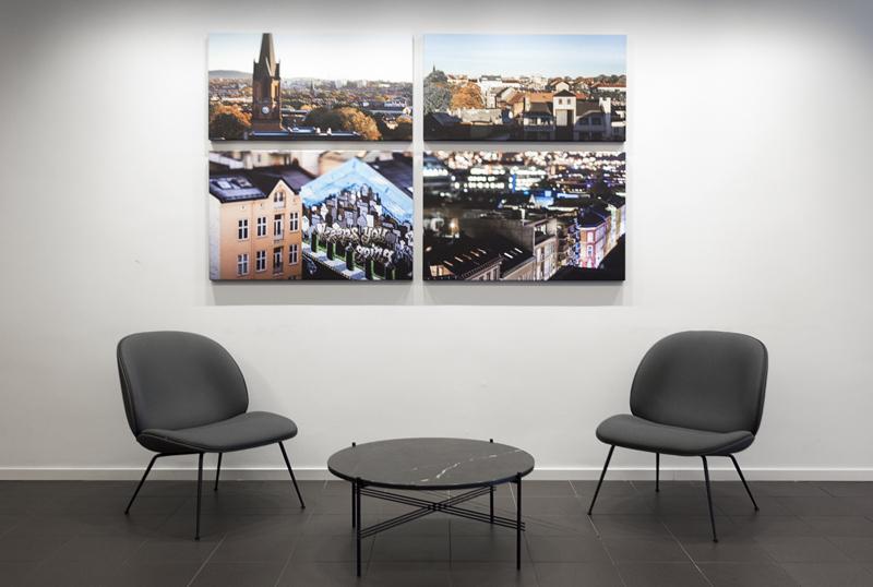 Foto på vegg, fotoprint, veggdekor