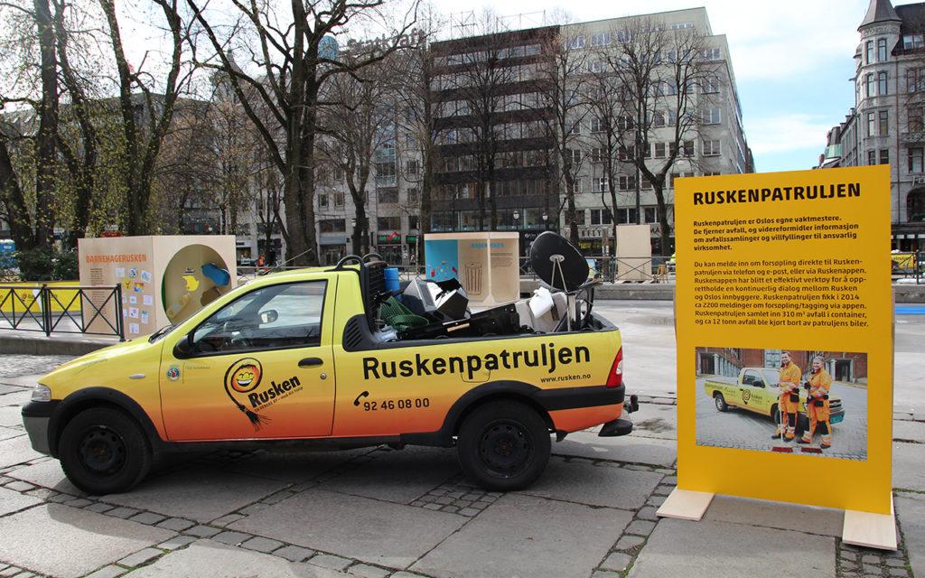 Bildekor, bilfolie, bil med logo. folie, Ruskendagen Oslo