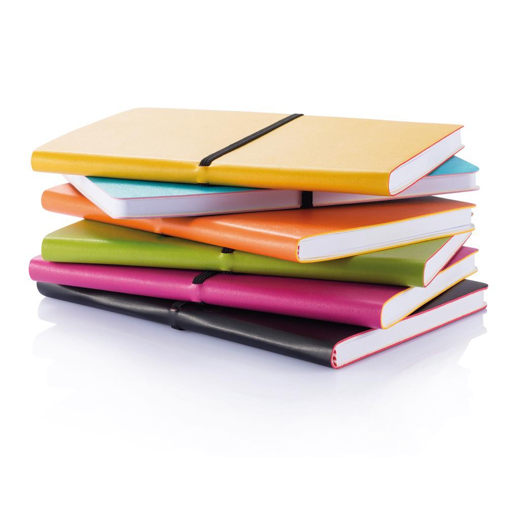 Notatbok, notatbok med logo