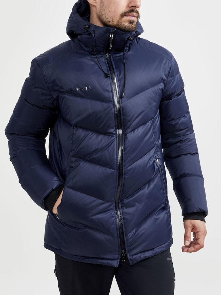 Craft dunjakke, vinterjakke, profiljakke, jakke med logo, firmajakke, firmaklær, profilklær