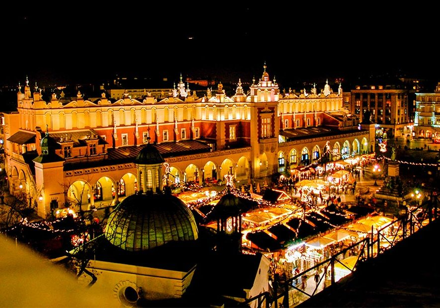 Firmatur Krakow, julemarkes, firmareise