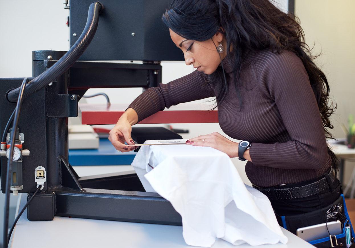 Transfertrykk, trykk, trykk på klær
